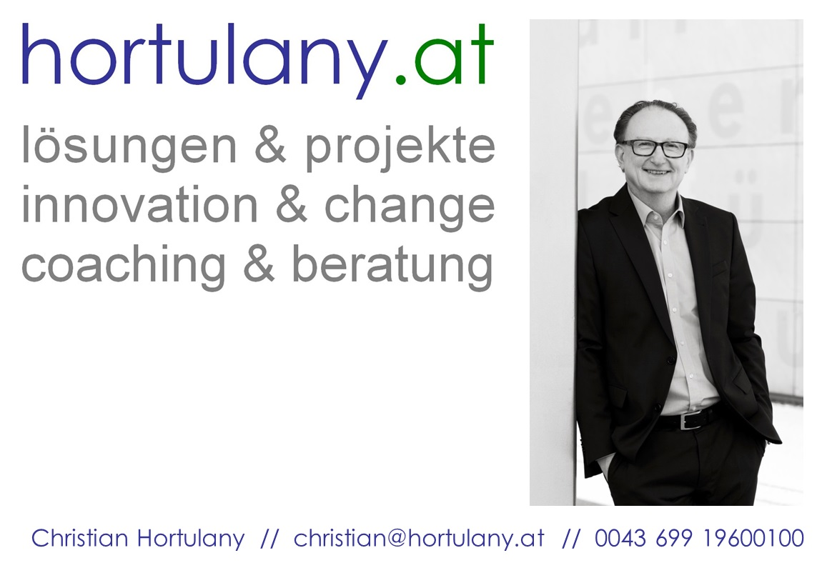 Christian Hortulany: Lösungen & Projekte, Innovation & Change, Coaching & Beratung